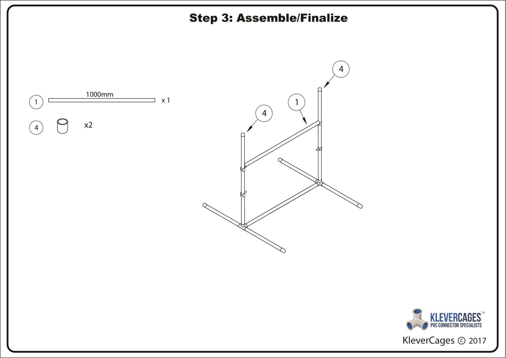 Step 3 Final assembly