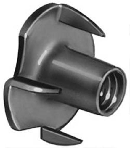 T-Nut, steel, zinc plated, 1/4-20