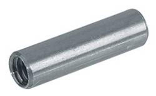 Sleeve Nut, steel, brightened, M4, 5mm x 18mm