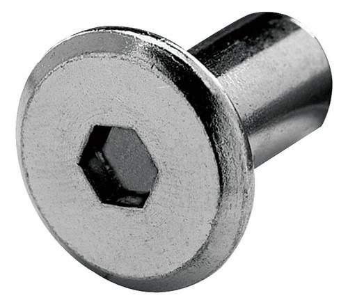 JCN Nut screw 17mm, steel, black oxide, 1/4-20