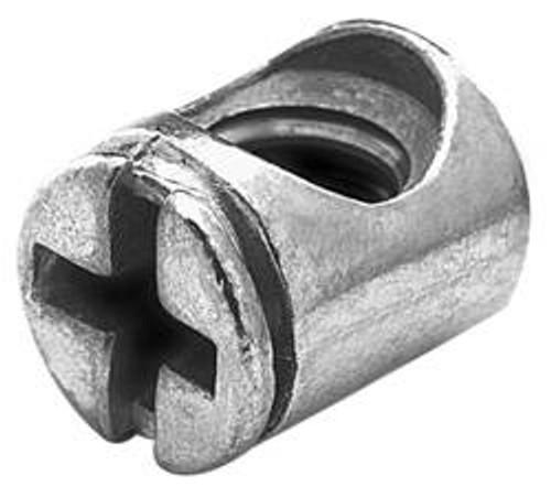 Cross Dowel 1/4-20 x 10mm x 13mm, zinc-plated, galvanized, with