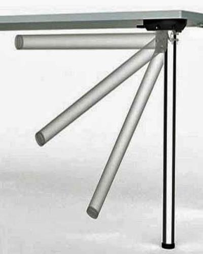 Stainless Steel, Heavy Duty, Single Folding Table Leg