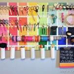 Rainbow Pegboard