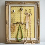 Pegboard to Hang Jewelry