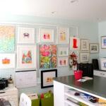 Pegboard Art Gallery
