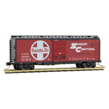 Micro Trains N Scale ATSF Boxcar Road Number 16949