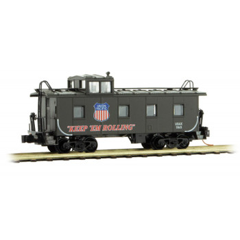 Micro Trains N Scale Union Pacific UP WWII Poster Series Caboose