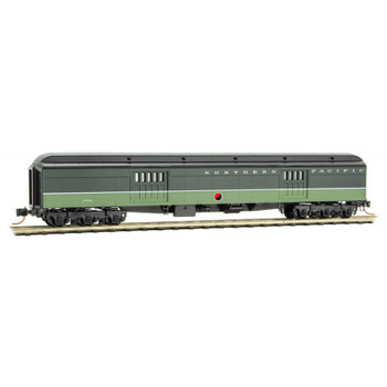 Micro Trains 147 00 320 N Scale Norther Pacific 70' Foot Baggage Car