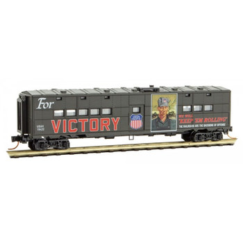 Micro Trains 118 00 220 N Scale UP Union Pacific WWII Poster Series Passenger Car #12
