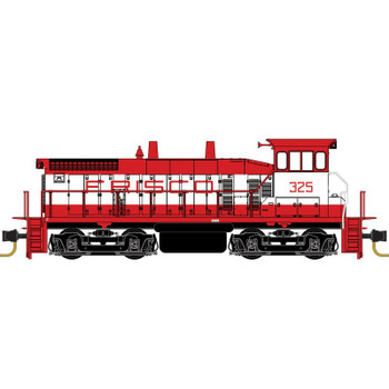 Micro Trains N Scale Frisco SW1500 Powered Locomotive Road #325