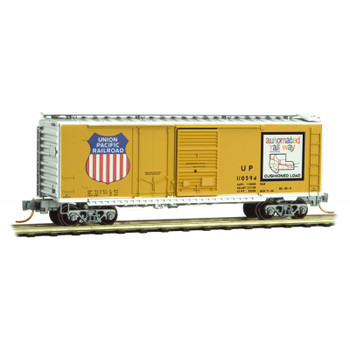 Micro Trains 022 00 051 N Scale Union Pacific UP Boxcar Road #110594