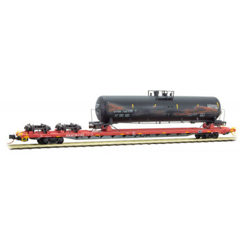 Micro Trains N Scale QUAX Salvage  With Tanker Road #261102