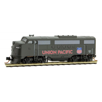 Micro Trains N Scale UP Union Pacific WWII Poster Series FT Locomotive