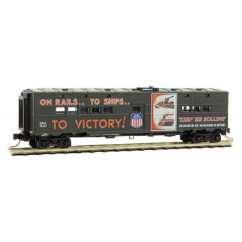 Micro Trains 118 00 210 N Scale UP Union Pacific WWII Poster Series Passenger Car #11