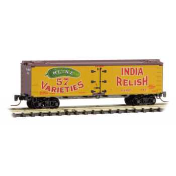 Micro Trains Z Scale  HEINZ Boxcar Yellow Series #3 Road #440