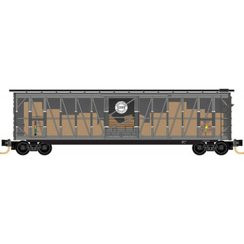 Micro Trains 031 00 490 N Scale Southern Pacific Impact Car SP 50' Boxcar