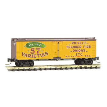 Micro Trains Z Scale Heinz Yellow Series Boxcar #5 Road #485