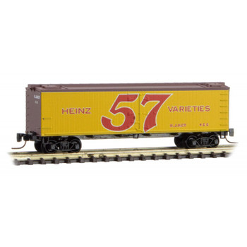 Micro Trains 518 00 660 Z Scale Heinz Yellow Series Boxcar #4 Road #466