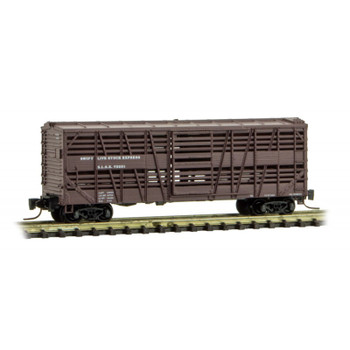 Micro Trains Z Scale Swift Live Stock Express Car Road #72221