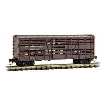 Micro Trains Z Scale Swift Live Stock Express 40' Boxcar Road #72243