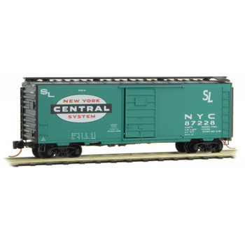 Micro Trains 020 00 207 N Scale New York Central Line 40' Boxcar Road #87228