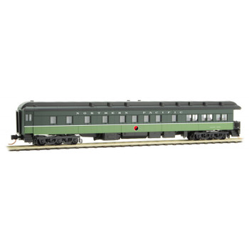 Micro Trains 144 00 320 N Scale Northern Pacific NP Observation Passenger Car