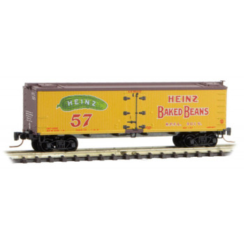 Micro Trains Z Scale Heinz Yellow Series #6 Boxcar Road #3015