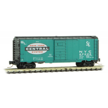 Micro Trains 500 00 056 Z Scale New York Central Boxcar Road #87228