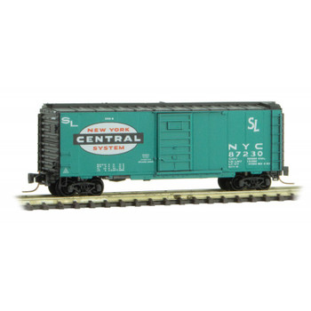 Micro Trains 500 00 057 Z Scale New York Central 40' Boxcar Road #87230