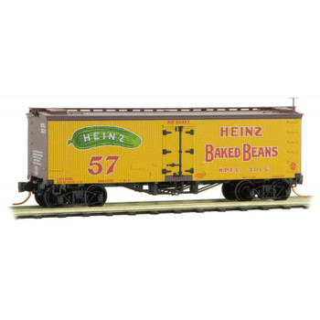 Micro Trains 058 00 440 N Scale Heinz Yellow Series #6 Boxcar Road #3015