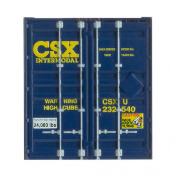 Micro Trains 469 00 012 N Scale CSX 53' Corrugated Container Road #233431