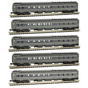Micro Trains 993 01 820 N Scale Union Pacific Passenger Set 5 Pack