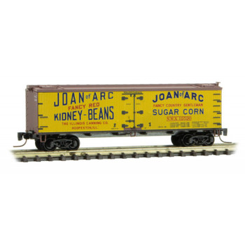 Micro Trains 518 00 720 Z Scale Joan of Arc Farm To Table Series Boxcar 2
