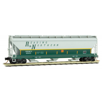 Micro Trains 094 00 550 N Scale Reading Northern Covered Hopper
