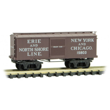 Micro Trains 993 01 830 N Scale Erie North Shore Line Civil War Era 4 Boxcar Pack