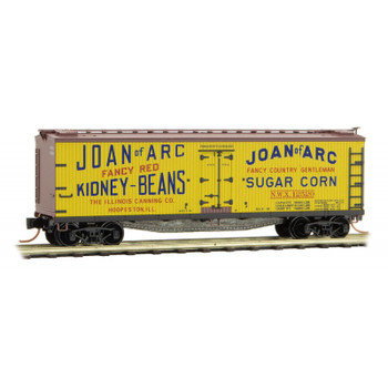 Micro Trains 049 00 810 N Scale Joan of Arc Farm to Table 40'Boxcar 2