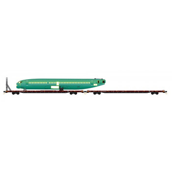 Micro Trains 993 01 781 N Scale TTX Fuselage Transport 2 Pack #1