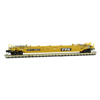 Micro Trains 540 00 014 Z Scale TTX 70' Well Car Road Number 56835