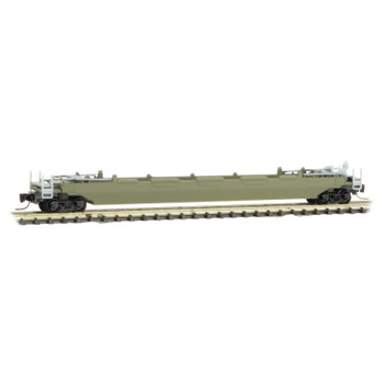 Micro Trains 540 00 000 Z Scale Undecorated 70' Well Car