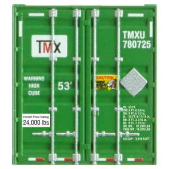 Micro Trains 469 00 162 N Scale TMX 53' Container Road #780731