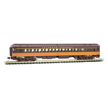 Micro Trains 993 01 790 N Scale Illinois Central Heavyweight Passenger Set 5-Pack
