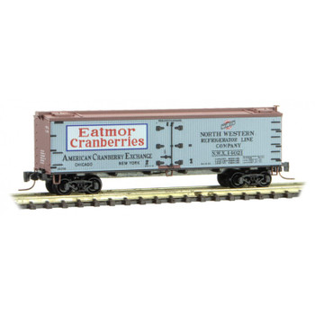 Micro Trains 518 00 730 Z Scale Farm To Table Eatmor Cranberries Boxcar 3