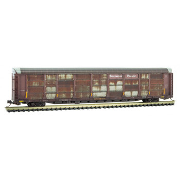 Micro Trains 111 44 310 N Scale Southern Pacific Weathered 89' Tri Level Autorack