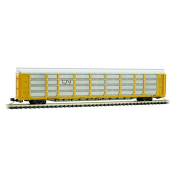 Micro Trains 111 00 300 N Scale Canadian National CN Autorack Road Number 704345