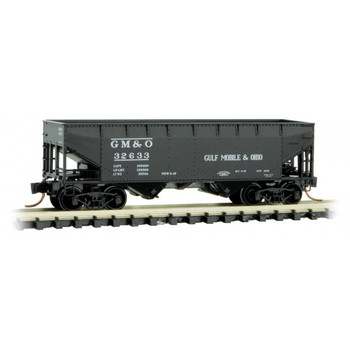Micro Trains 055 00 540 N Scale Gulf, Mobil & Ohio Hopper Road Number 32633