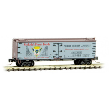 Micro Trains 518 00 740 Z Scale Farm To Table Series Boxcar #4 Stokely's Finest Foods