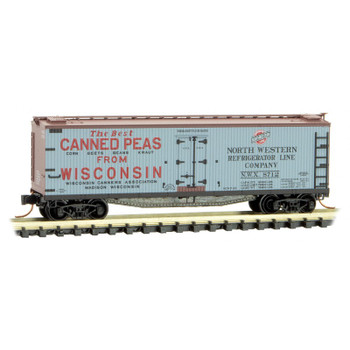 Micro Trains 049 00 840 N Scale Farm To Table Series Boxcar #5 Wisconsin Canned