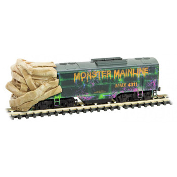 Micro Trains 993 01 320 N Scale Monster Mainline Halloween Train Set