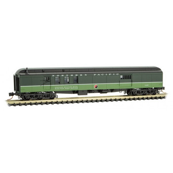 Micro Trains 148 00 320 N Scale Northern Pacific 70' Mail Baggage Car Road # 1447