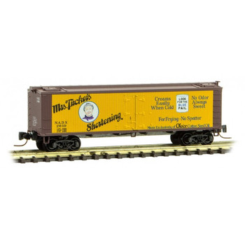 Micro Trains 058 00 470 N Scale Farm To Table Series Boxcar #6 Mrs. Tuckers Shortening